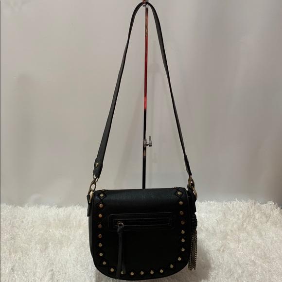 gal Handbags - Gal black studded Crossbody/ shoulder bag